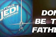 Star Wars Prophylactic Spoofs - The 'Jedi Condoms' Video Uses the Force as Protection