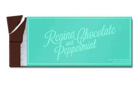 Regina Chocolate packaging