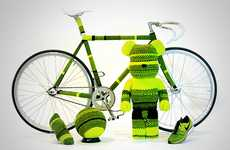 Futuristic Sport-Inspired Art