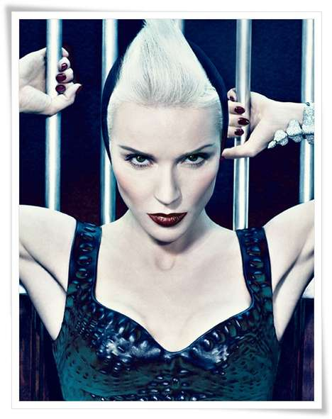 Flamboyant Daphne Guinness Editorials