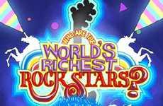 Rich Rock Star Infographics