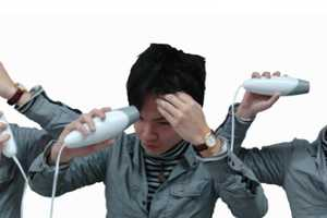 The Twist Hair Dryer Adjusts Shape According to Your Desired Angle
