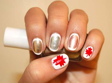 Fashion Magazine Olympic nails
