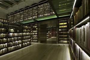 The Castro Leal Library Uses Diode Lighting