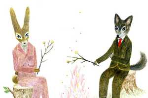 Fukawa Aiko Depicts Dapper Creatures Enjoying Human Activities