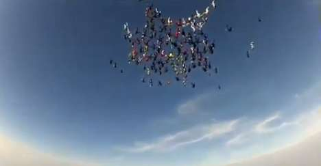 138 Skydivers Break Vertical World Record 