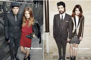 The Kooples Autumn 2012 LookBook Dons Couples with Stylish Layering