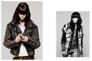 Meghan Collison for Proenza Schouler Fall 2012 Campaign is Chic
