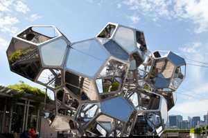 Artist Tomas Saraceno's Met Exhibit is Curved