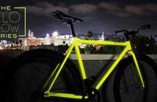 Glow-in-the-Dark Bikes