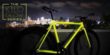 Glow-In-The-Dark Bike