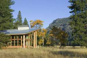 The Remote 'Meadow Cabin' by Balance Associates Architects is Lovely