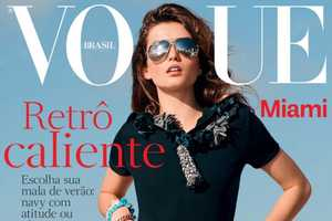 The Andreea Diaconu for Vogue Brazil Photoshoot is Classic
