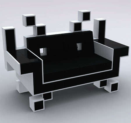 Geeky Gamer Furnishings