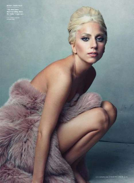 Lady Gaga September 2012 Vogue