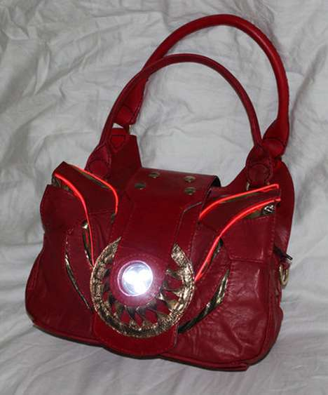 Glowing Iron Man Purse