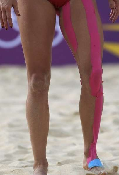 kinesio tape at london 2012