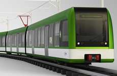 Easily Deciphered Streetcars - This New Generation Light Rail Concept Delivers Better Visual Cues