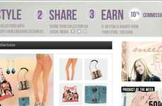 Personalized Virtual Boutiques - Boutine Lets You Create Your Own Outfits, Shop Looks & Earn Money