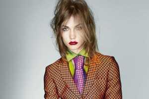 Dandy Haze in the Vogue UK September 2012 Issue is Fierce
