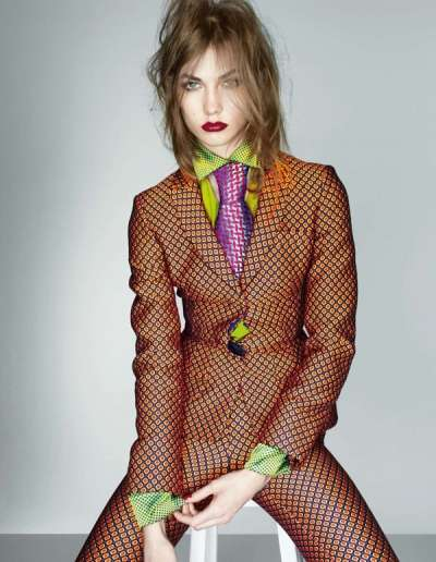Dandy Haze in Vogue UK September 2012