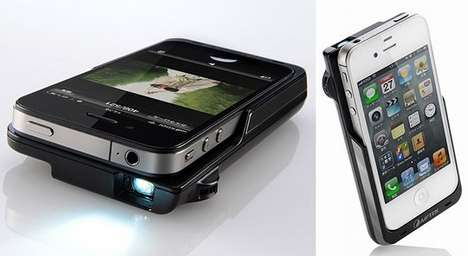 PRJ016 iPhone Micro Projector