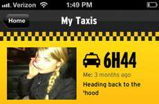 Candid Cab Adventure Apps - Taxi Snapshot Lets New Yorkers Share Taxicab Moments