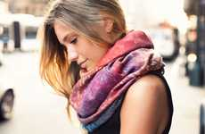 Sunkissed-Inspired Scarves - The 'Brushfire Summer Wrap' is a Must-Have for Any Season