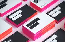 Ombre Business Cards - The 'A Pair & a Spare' Project is Ideal for Creative Individuals