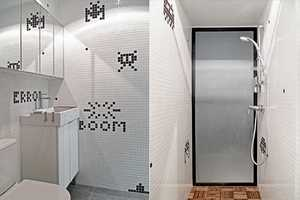 The OneByNine Space Invader Apartment is Cheeky