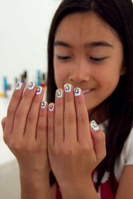 Nail art by artists