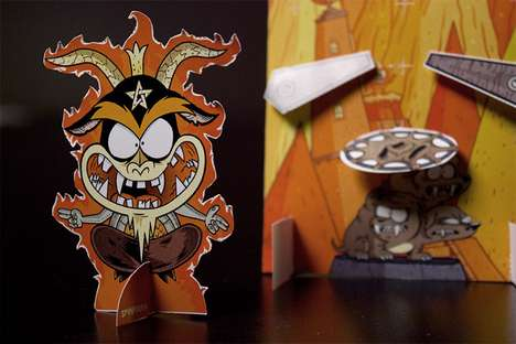 Voodoo Pinball Characters - Rocksauce Studios Presents a Slightly Creepy Design