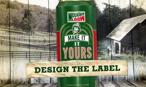 Malt Soda Rebranding Contests - Mountain Dew