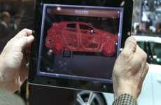 Showroom Auto Scanners - The Volvo X-Ray App Gives Users a Complete View of the Vehicle