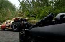 Motorized Batman Vehicles