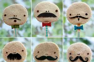 The Cookie Fellows by Kirsty Sport Some Serious Facial Hair