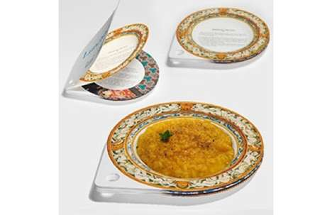 Paper Plate Cookbooks - The Lunchbook Provides Plenty of Recipes with Pages that Double as Dishes