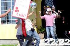 Speedy Soda Celebrations - Diet Coke Throws 30-Second Birthday Parties for Biggest Fans