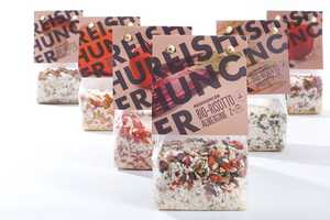 Reishunger Bio-Risotto Packaging Communicates an Honest Earthiness
