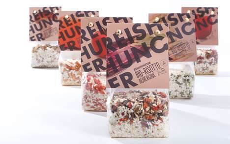Reishunger Bio Risotto Packaging
