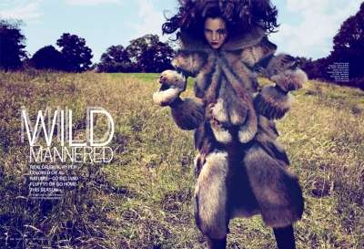 Wild Mannered for the September 2012 Marie Claire