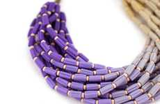 Color-Fading Jewelry - This Ombre Necklace by Paciorky Art Studio is a Must-Have Accessory