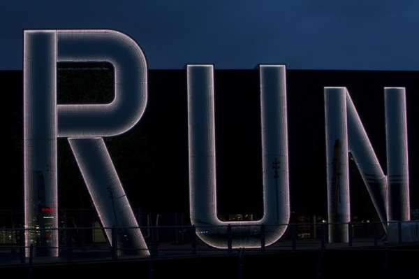 Run Installation  by Monica Bonvicini 