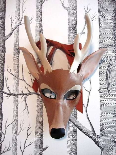 Leather Animal Masks