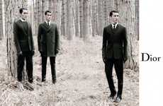 Dapper Woodsy Fashion Ads