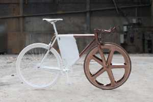 The Peugeot DL121 Bicycle is Split Down the Middle