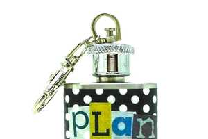 Marcia Leichter's 'Flask Key Rings' Are Accessible