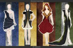 The 'House Couture' Designs by Cavalyn are Magical