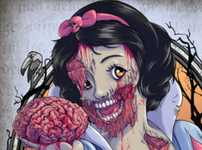 From Anatomical Cupcakes to Bloody Zombie Portraiture