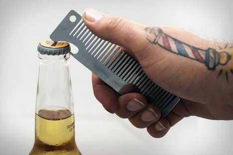 Old Familiar Comb Bottle Opener